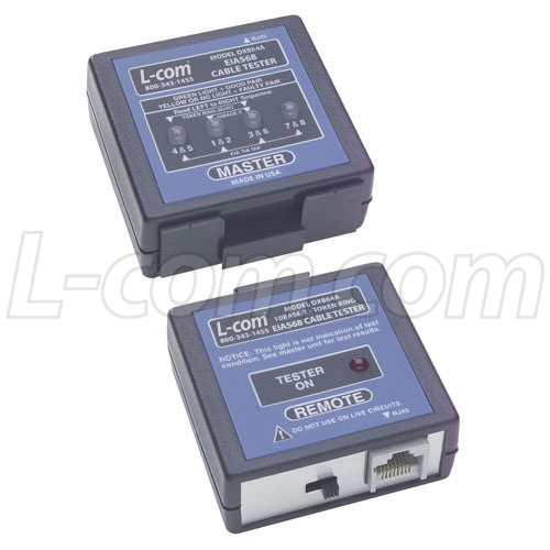Dxb64a  Eia568  Rj45  Remote Cable Tester U73b0 U8d27 U3001 U671f U8d27 L-com