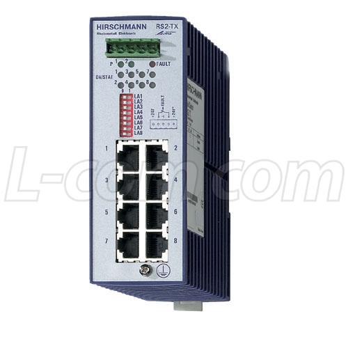 warranty Industrial Control Equipment Hirschmann RS2-TX Rail Switch 24vdc